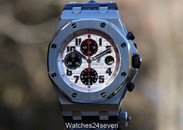 Audemars Piguet Royal Oak Offshore Chronograph Themes Silver Hornback 42mm