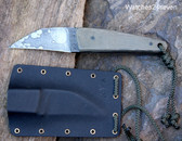 Van R. Steck Neck Knife Fixed Blade with Sheath: $175 USD