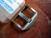 Panerai OEM Polished SS Tang Buckle 22 mm $250
