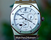 Audemars Piguet Royal Oak Dual Time White Dial 26120ST.OO.1220ST.01