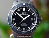 IWC Aquatimer Model 3536 GST Titanium 2000 Meter Dive Watch