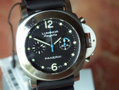 Panerai PAM 308 Chronograph Regatta Special Edition blue second hand