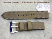 WWII Ammo Strap Painted 24 mm Standard length 140/80 mm