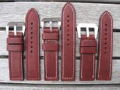 DIRK Straps Made in Italy Vachetta Bruciato
