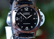 Panerai PAM 359 Luminor Marina 3 Day Movement Patina Dial, 44 mm