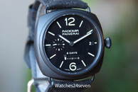 Panerai PAM 384 Radiomir 8 day movement Ceramic 45mm