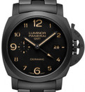 Panerai PAM 438 Luminor Marina GMT Ceramic Tuttonero 1950 Case, 44mm