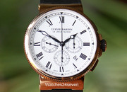 Ulysse Nardin Maxi Marine Chronograph 43mm Rose Gold Limited Edition of 150 Units