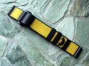 Panerai OEM Kevlar Velcro Dive Strap Yellow Standard Length