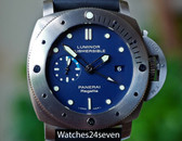 Panerai PAM 371 Submersible GMT Special Edition Regatta 47MM