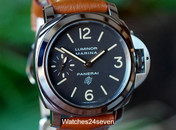 Panerai PAM 632 Luminor Marina Tobacco Dial Logo Boutique Edition 44mm