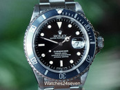 Rolex Submariner Stainless U Series 40mm, Ref 16610