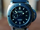 Panerai PAM 389 Submersible Amagnetic w Ceramic Bezel 47mm