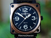 Bell & Ross BR01-92 Aviation Carbon & Pink Gold & Pink Gold 46mm