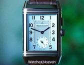 Jaeger LeCoultre Reverso Duo Automatic Silver & Black