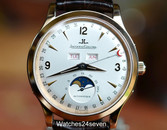 Jaeger LeCoultre Master Moon Triple Calendar Rose Gold 37mm, Ref. 140.2.98