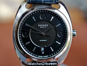 Hermes Dressage Quantieme Automatic Date Stainless 40mm