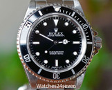 Rolex Submariner No Date Stainless Steel 40mm, Ref. 14060