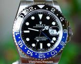 Rolex GMT Master II Ceramic Black & Blue Bezel, Ref. 116710 BLNR