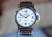 Panerai PAM 602 Luminor Daylight 8 days White Vintage Style Dial, 44mm