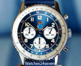Breitling Navitimer Blue Dial Patrulla Aguila Limited Edition 38mm