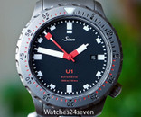 Sinn U1 Tegimented Automatic 1000m Diver w Bracelet & Strap