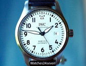 IWC Pilot Mark XVIII Automatic Silver Dial Steel 40mm, Ref. IW327002