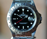 Rolex Explorer II GMT Stainless Steel 40mm Circa 1995 Ref. 16570 W