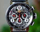 BRM V12 Automatic Chronograph Skeleton Black & Red 44mm LTD of 10 Units