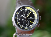 IWC Aquatimer Split Minute Chronograph Titanium 44mm Model IW372301