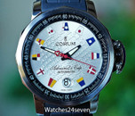 CORUM Admirals Cup Trophy 41 Silver Dial Automatic Date 41mm