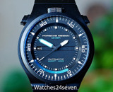 Porsche Design Performance Diver Automatic Date Black PVD Titanium, Flip Up