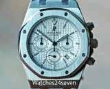 Audemars Piguet Royal Oak Chronograph Silver Dial 39mm