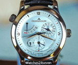 Jaeger LeCoultre Master Control Geographic World Timer GMT Rose Gold 40mm