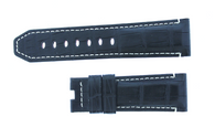 Panerai OEM Black and Red MAT Alligator 24/22mm