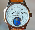 Jaeger LeCoultre Duometre Travel Time Globe Dial Rose Gold, Ref. Q6062520