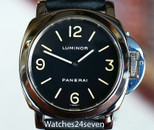 Panerai PAM 02A Luminor Base Model Tritium Painted 44mm, Ref. PAM0002A