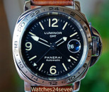 Panerai PAM 23 A Luminor Marina Automatic GMT Explorer Bezel 44mm