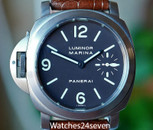 Panerai PAM 56 Luminor Marina Destro Tobacco Dial Titanium 44mm
