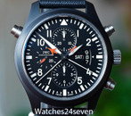 IWC Doppelgraph Top Gun Ceramic Pilot Watch, 46 mm ON HOLD