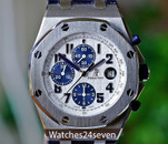 Audemars Piguet Royal Oak Offshore Chronograph White & Navy 42mm