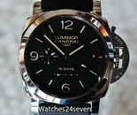 PANERAI PAM 533 LUMINOR 1950 10 DAYS GMT AUTOMATIC ACCIAIO 44MM