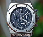 Audemars Piguet Royal Oak Chronograph Black Charcoal Dial 39mm, ON HOLD