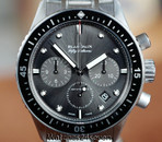 Blancpain Fifty Fathoms Bathyscaphe Flyback Chronograph Grey Dial 43mm