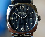 Panerai PAM 627 Radiomir 3 Days Automatic GMT Hobnail Dial 1940 Acciaio 45mm