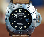 Panerai PAM 243 Submersible 1000 Meters T Dial 44mm
