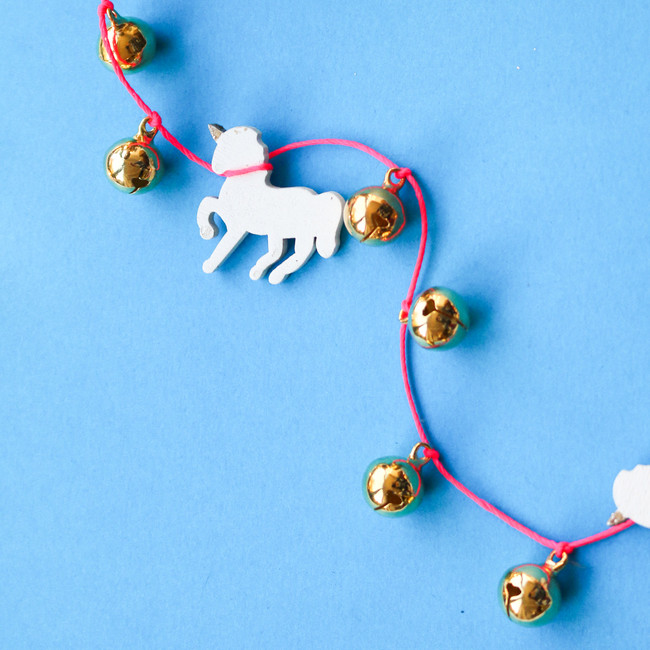 Unicorn Bell Garland