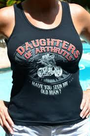 """SOA Ladies Ribbed Tank """"Have You Seen My Old Man?"""""""