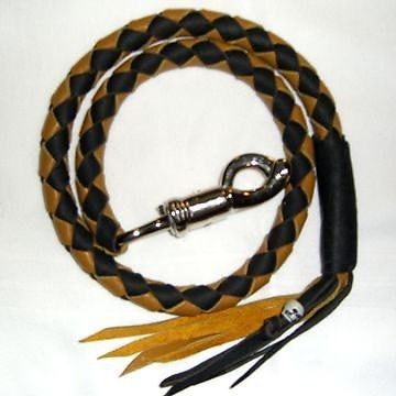 Black and Gold Whip