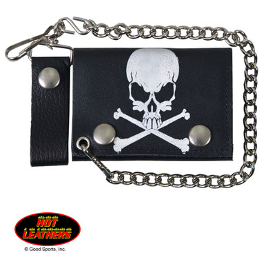Skull and Crossbones Wallet